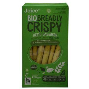 Breadsticks with pesto & basil 10x120gr