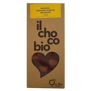 Milk chocolate with almonds 10X110gr