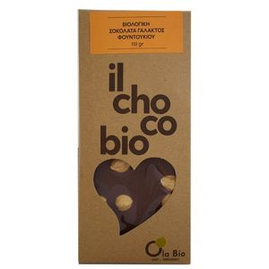 Milk chocolate with hazelnut 8X110gr