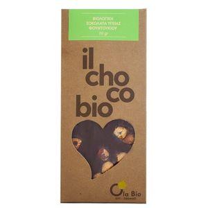 Dark chocolate with hazelnut 8X110gr