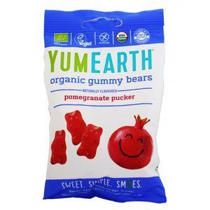 Organic gummy bears (pomegranate pucker) 12x50gr