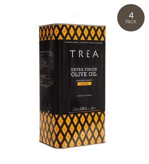TREA Extra Virgin Olive Oil 4lt tin - Koroneiki variety