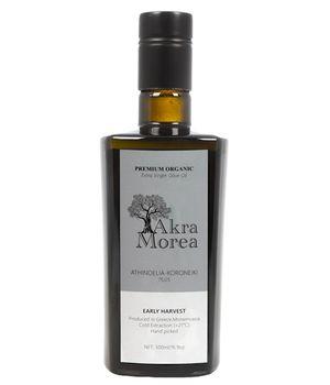High Polyphenol - Premium Organic Olive Oil AKRA MOREA - 500ml