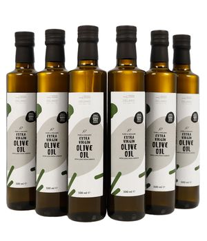 6 Bottles of MANAKI Organic Extra Virgin Olive Oil + Oregano and Thyme as a gift