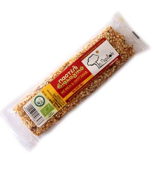 Organic sesame seed with honey and almonds 30g / Ecological Market