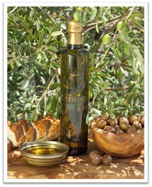 Tesoro Plaisir Organic Extra Virgin Olive Oil 750ml Glass Bottle