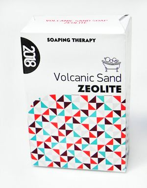 Soap with zeolite 100gr