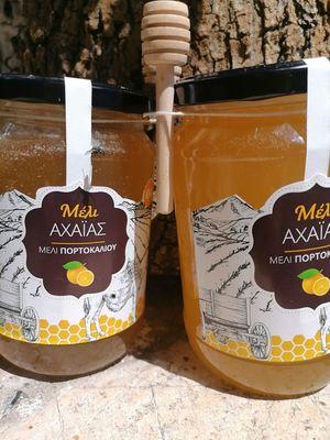 Laconian orange honey 1kg