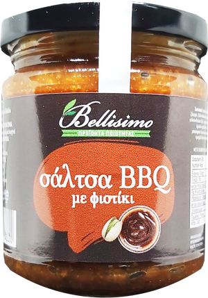 BBQ SAUCE WITH PISTACHIOS