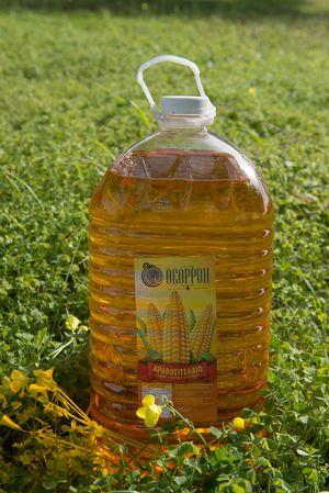 "Corn oil 10l ""Theorroi"" pet packaging"