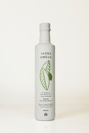 Early Harvest (Agro Oil) Extra Virgin Olive Oil, 500ml - Koroneiki variety