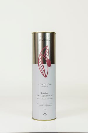 Selection Extra Virgin Olive Oil 1lt tin - Koroneiki variety