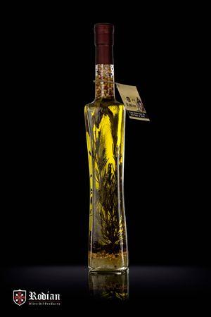 Delicatessen Olive oil with herbs & spices - Quattro 500ml