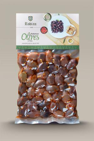 Spicy kalamon olives 250g - Vacuum