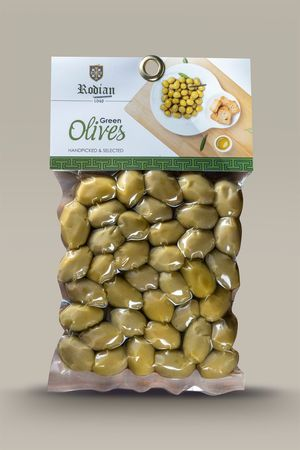 Green Olives 150gr - Vacuum