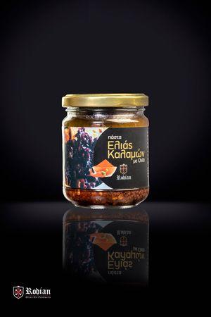Spicy kalamon olive paste 180g