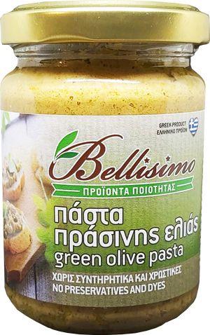 Green olive paste