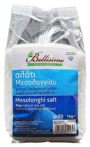 Unprocessed Mesolonghi salt 1kg