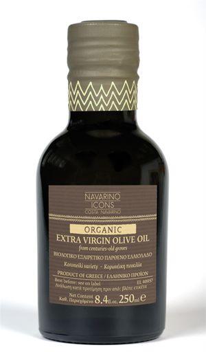 Navarino Icons Organic Extra Virgin Olive Oil - 250ml - Koroneiki variety