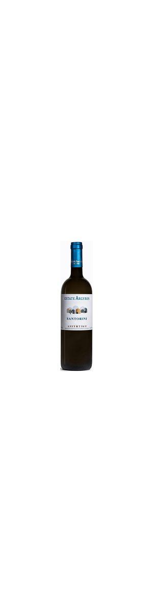Santorini Assyrtiko White Wine 750ml (Year of Production: 2019)