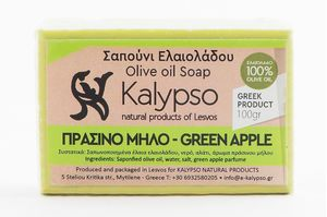Hand Made Olive Oil Soap - Green Apple