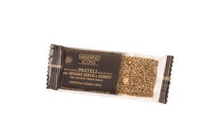 Energy Bar - Pasteli with Sesame Seeds & Honey 30gr - No sugar