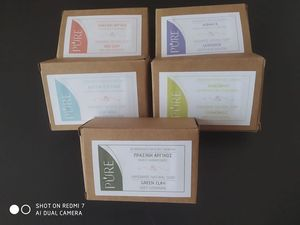 Natural Bar Soap with Activated Charcoal