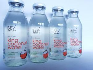Natural King Coconut Water, 350ml bottle, 240ml can and bulk, MOQ 1150 Bottles(1 pallet)