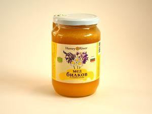 Honey River jar of honey