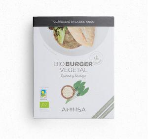 Vegetable Burger Quinoa and Borage 160 grs (2 burgers 80 grs each) VEGAN