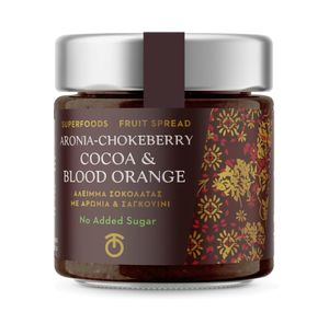 Fruit Spread Aronia/Chokeberry With Cocao & Blood Orange - 230gr