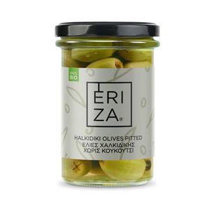 Organic Halkidiki Olives Pitted 145g