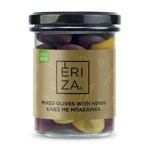 Organic Mixed Olives with Herbs 100g