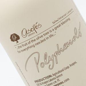 ASOPOS 0.2 polyphenols  premium e.v.o.o  250ml - packaging carton box of 12 pcs