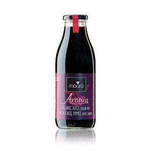 Organic aronia juice      Βιολογικός χυμός αρώνιας    500ml     12pcs