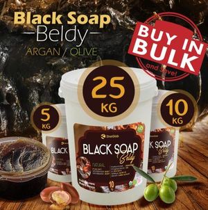 20kg Unrefined Organic Africa Black Soap