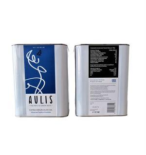 3lt Can Aulis Premium Extra Virgin Olive Oil