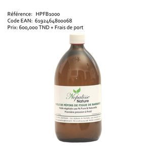 Prickly pear seed oil 1 litter