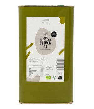 Organic Olive Oil Extra Virgin Amfissis 3 liters