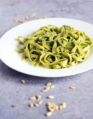 TAGLIATELLE WITH SPINACH, 400GR   -    10 pcs