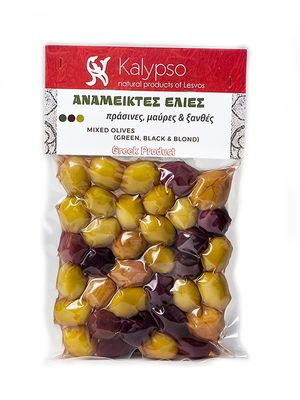 Mixed Olives from Lesvos Island