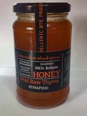 Hellenic Bee Products - Wild Raw Thyme Honey 1kg