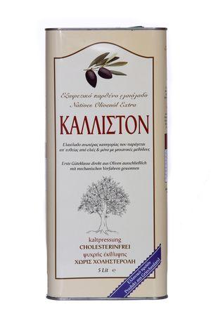 Authentic Greek Extra Virgin Olive Oil KALLISTON 3 liter tin