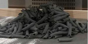 ΠΕΝΕΣ ΜΕ ΜΕΛΑΝΙ ΣΟΥΠΙΑΣ 400g - Συσκευασία 14 τεμαχίων / Pasta with Cuttlefish Ink, 400gr
