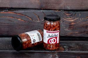 Ελιές Μαύρες Καλαμών σε ροδέλες σε βάζο 215γρ
