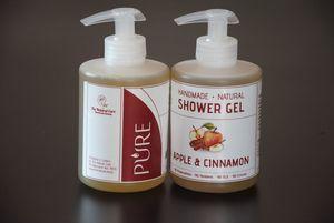 Χειροποίητο Φυσικό Υγρό Σαπούνι & Shower Gel 300ml