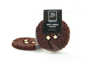 Soft Cookie Σοκολάτα ΖΕΟ ΚΤΨ 60g x 50 Τεμάχια