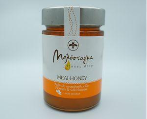 Μέλι από άνθη και αγριολούλουδα 400 ml