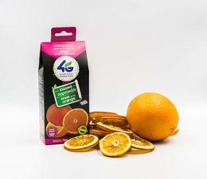 Ελληνικό αποξηραμένο πορτοκάλι χωρίς ζάχαρη  70γρ