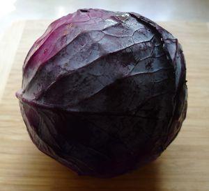 Λάχανο Κόκκινο Ευβοίας Μέτριο 1τμχ 1.3 κιλά (0.75€/κιλό)